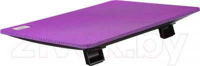 Подставка для ноутбука Deepcool N1 (фиолетовый) - вид сзади