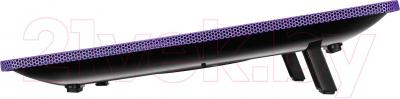 Подставка для ноутбука Deepcool N1 (фиолетовый) - вид сбоку