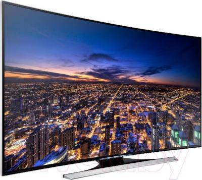 Телевизор Samsung UE55HU8700T - вполоборота