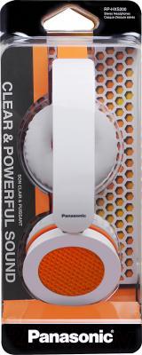 Наушники Panasonic RP-HXS200E-D - в упаковке