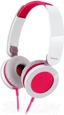 Наушники Panasonic RP-HXS200E-P - общий вид