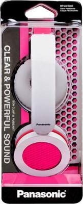 Наушники Panasonic RP-HXS200E-P - в упаковке