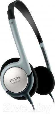 Наушники Philips SBCHL145 (серебристый) - общий вид