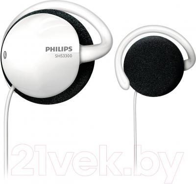 Наушники Philips SHS3300/10 (White) - общий вид