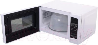 Микроволновая печь BBK 20MWG-741S/W - с открытой дверцей