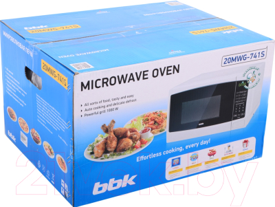Микроволновая печь BBK 20MWG-741S/W - коробка