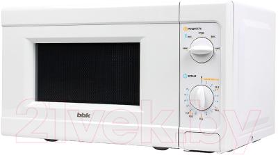 Микроволновая печь BBK 20MWS-705M/W - вид сбоку
