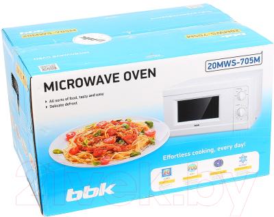 Микроволновая печь BBK 20MWS-705M/W - коробка