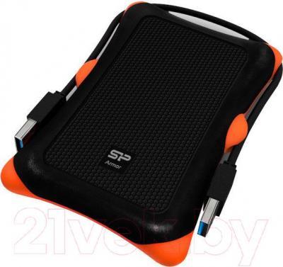 Внешний жесткий диск Silicon Power Armor A30 1TB Black (SP010TBPHDA30S3K) - общий вид