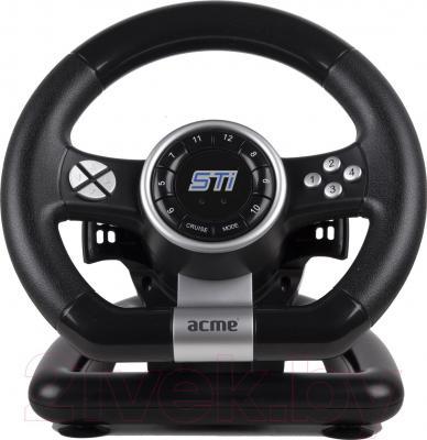 Игровой руль Acme Racing Wheel STi - фронтальный вид