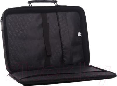 Сумка для ноутбука JFK Hollywood 17 (Black) - в открытом виде