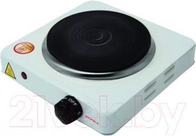 Электрическая настольная плита Supra HS-101 (White) - общий вид