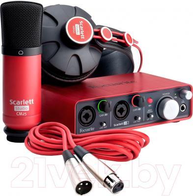 Аудиоинтерфейс Focusrite Scarlett Studio - общий вид