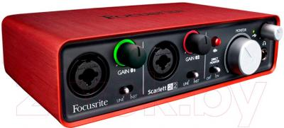 Аудиоинтерфейс Focusrite Scarlett 2i2 - общий вид
