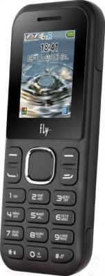 Мобильный телефон Fly DS107D (Black) - общий вид