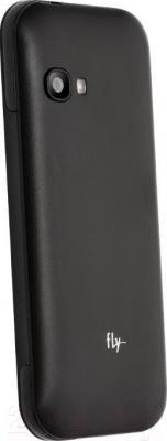 Мобильный телефон Fly DS107D (Black) - вид сзади