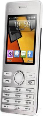 Мобильный телефон Fly DS131 (белый) - общий вид