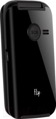 Мобильный телефон Fly Ezzy Trendy 2 (Black) - вид сзади