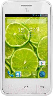 Смартфон Fly IQ434 (белый) - общий вид