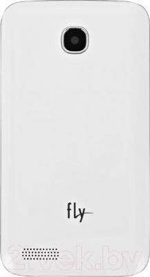 Смартфон Fly IQ434 (белый) - вид сзади