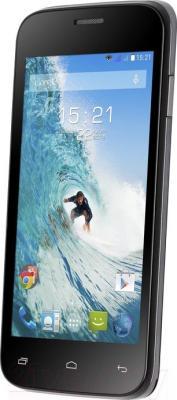 Смартфон Fly IQ4400 (Black) - общий вид