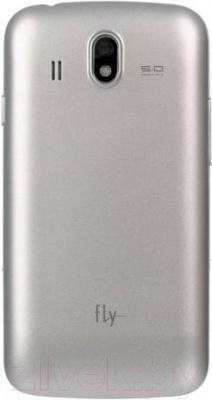 Смартфон Fly IQ4407 (Silver) - вид сзади