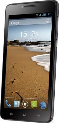 Смартфон Fly IQ4601 / Era Style 2 (черный) - общий вид