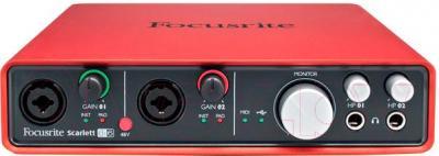 Аудиоинтерфейс Focusrite Scarlett 6i6 - общий вид