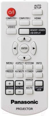 Проектор Panasonic PT-TX400E - пульт