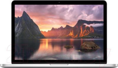 Ноутбук Apple MacBook Pro 13'' Retina (ME865LL/A) - фронтальный вид