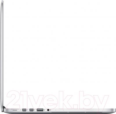 Ноутбук Apple MacBook Pro 13'' Retina (ME865LL/A) - вид сбоку