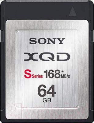 Карта памяти Sony XQD 64Gb (QDN64) - общий вид
