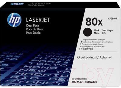 Комплект тонер-картриджей HP CF280XF - общий вид