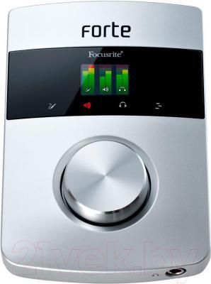 Аудиоинтерфейс Focusrite Forte - общий вид