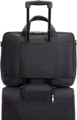 Сумка для ноутбука Samsonite Intellio Briefcases (00V*09 004) - крепление на чемодане