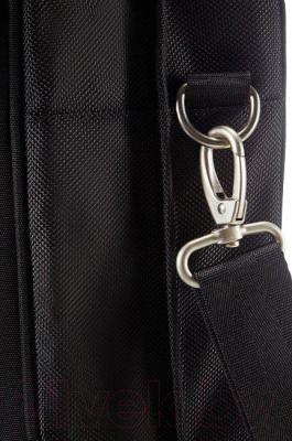 """Сумка для ноутбука Samsonite Intellio Briefcases 17,3"""" (00V*09 002) - крепление плечевого ремня"""