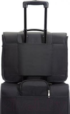 "Сумка для ноутбука Samsonite Intellio Briefcases 17,3"" (00V*09 002) - крепление на чемодан"