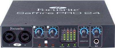 Аудиоинтерфейс Focusrite Saffire Pro 24 - общий вид