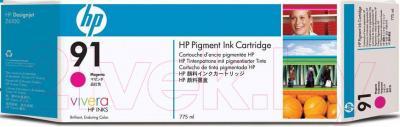 Картридж HP 91 (C9484A-1) - общий вид