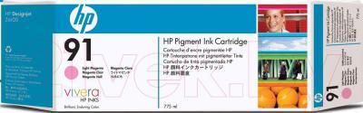 Картридж HP 91 (C9487A) - общий вид