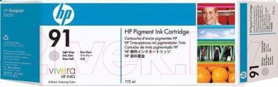 Картридж HP 91 (C9482A) - общий вид