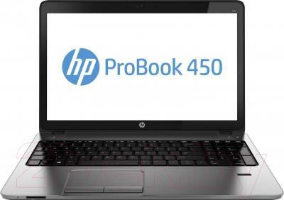 Ноутбук HP ProBook 450 G1 (F7Z37ES) - фронтальный вид