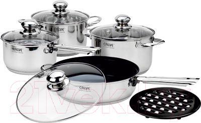 Набор кухонной посуды Calve CL-1830 - общий вид