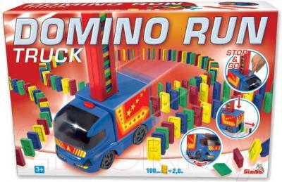 Игровой набор Simba Домино с машинкой (10 6063208) - упаковка
