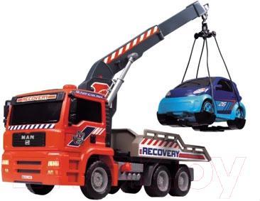 Функциональная игрушка Dickie Эвакуатор с пневмонасосом и машинкой (203336102) - общий вид