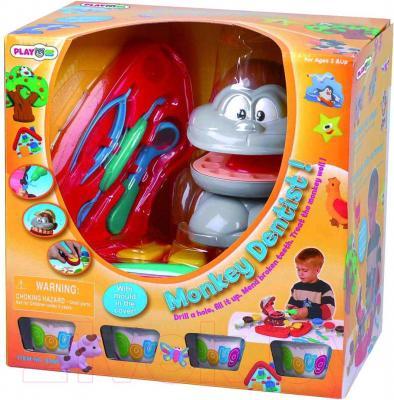 Игровой набор PlayGo Обезьяний зубной врач (8680) - упаковка