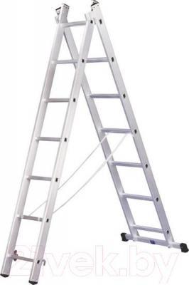 Лестница-стремянка Алюмет 5207 - общий вид