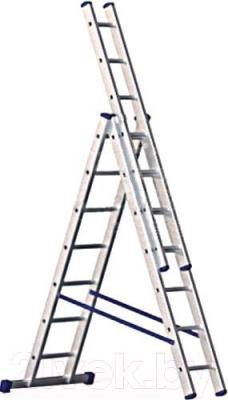 Лестница-стремянка Алюмет 5308 - общий вид