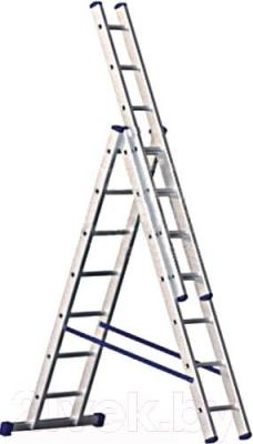 Лестница-стремянка Алюмет 5312 - общий вид
