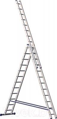 Лестница-стремянка Алюмет 6312 - общий вид